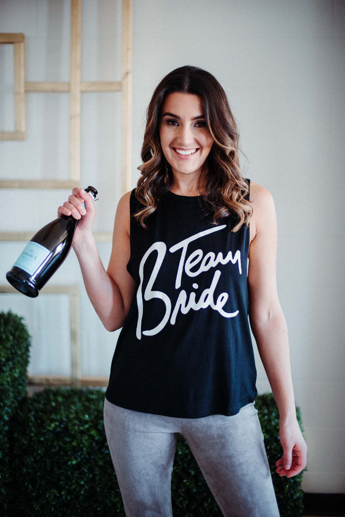 SOLD OUT / Team Bride Tank in Black