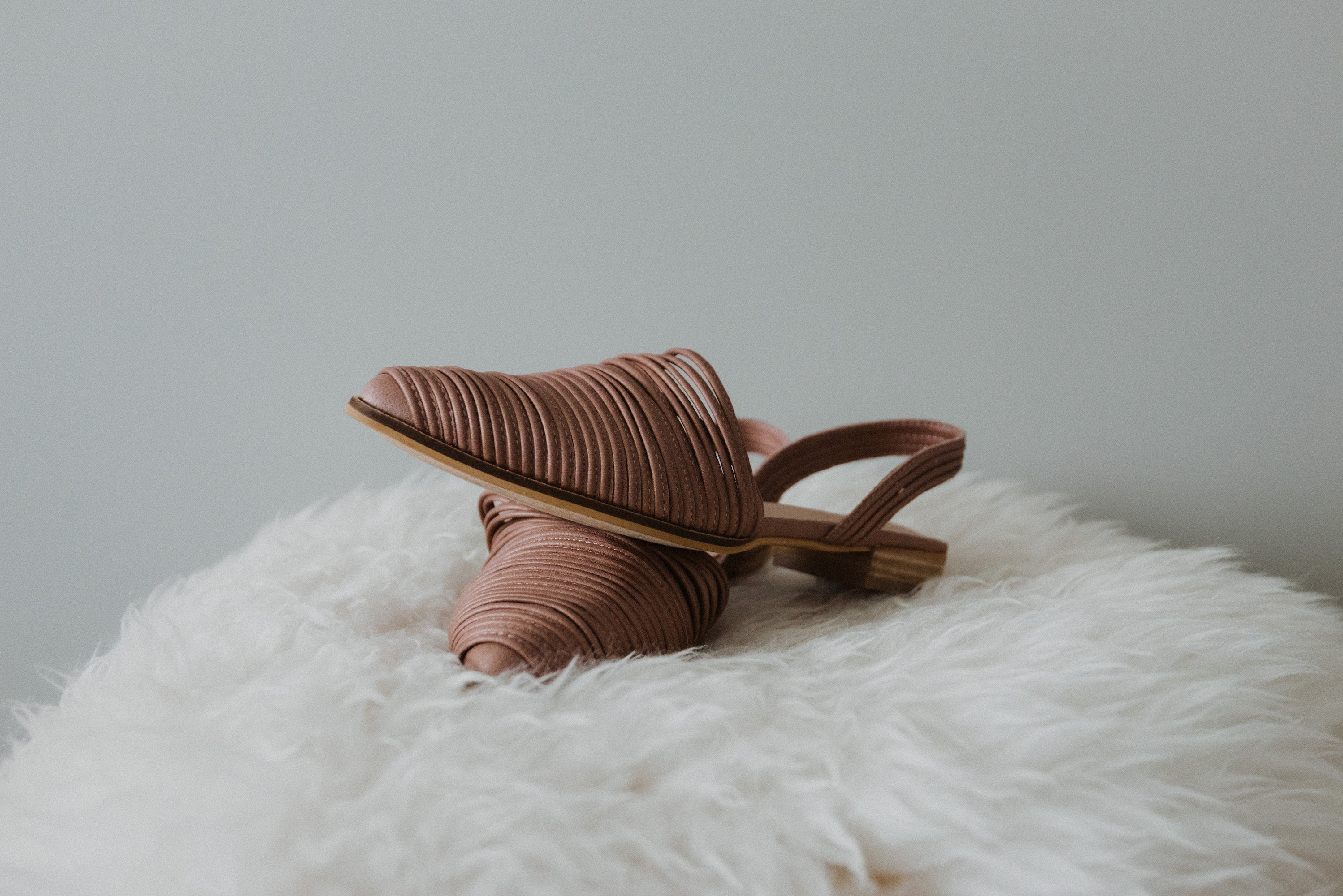 Sydney Strappy Slingback Slipper / FINAL SALE