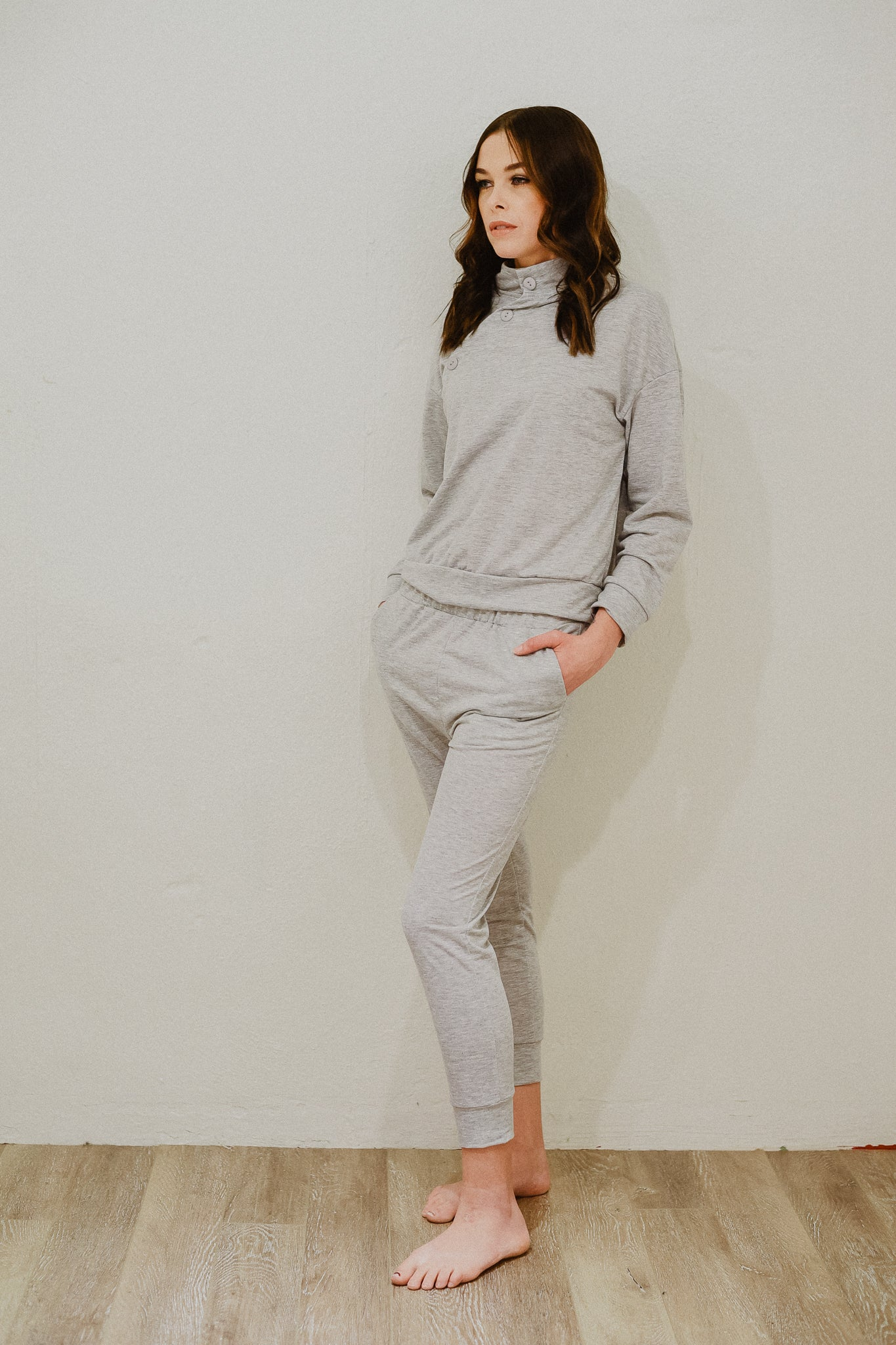 Let's Go Wear-ever Casual Set in Grey / FINAL SALE