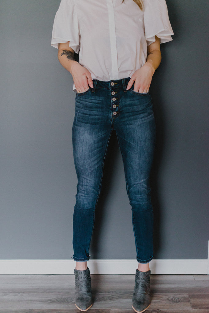 SOLD OUT / Big Easy High Rise Skinny Jeans