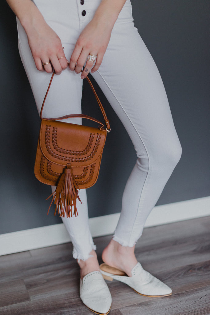 SOLD OUT / Petite Highlander Crossbody Bag in Brown