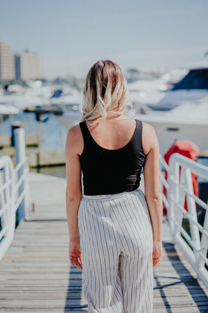 FLASH SALE / One Wish Striped Pant