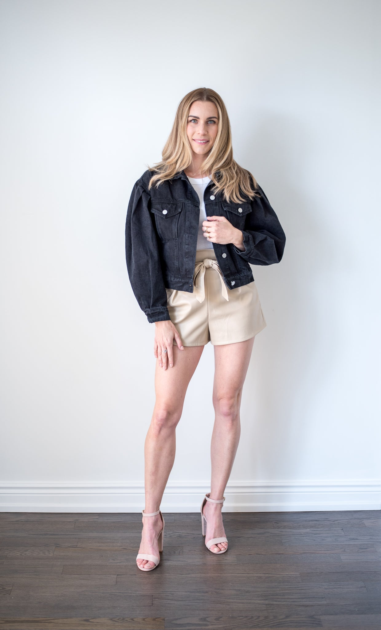 Upgrade Your Style Faux Leather Shorts