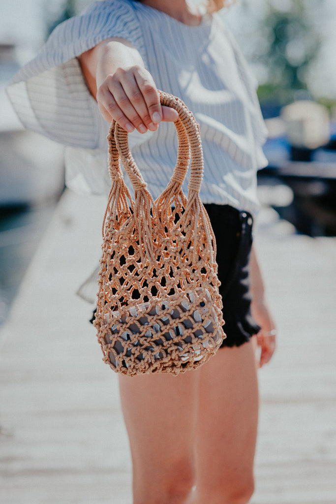 SOLD OUT / Catch of the Day Woven Bag