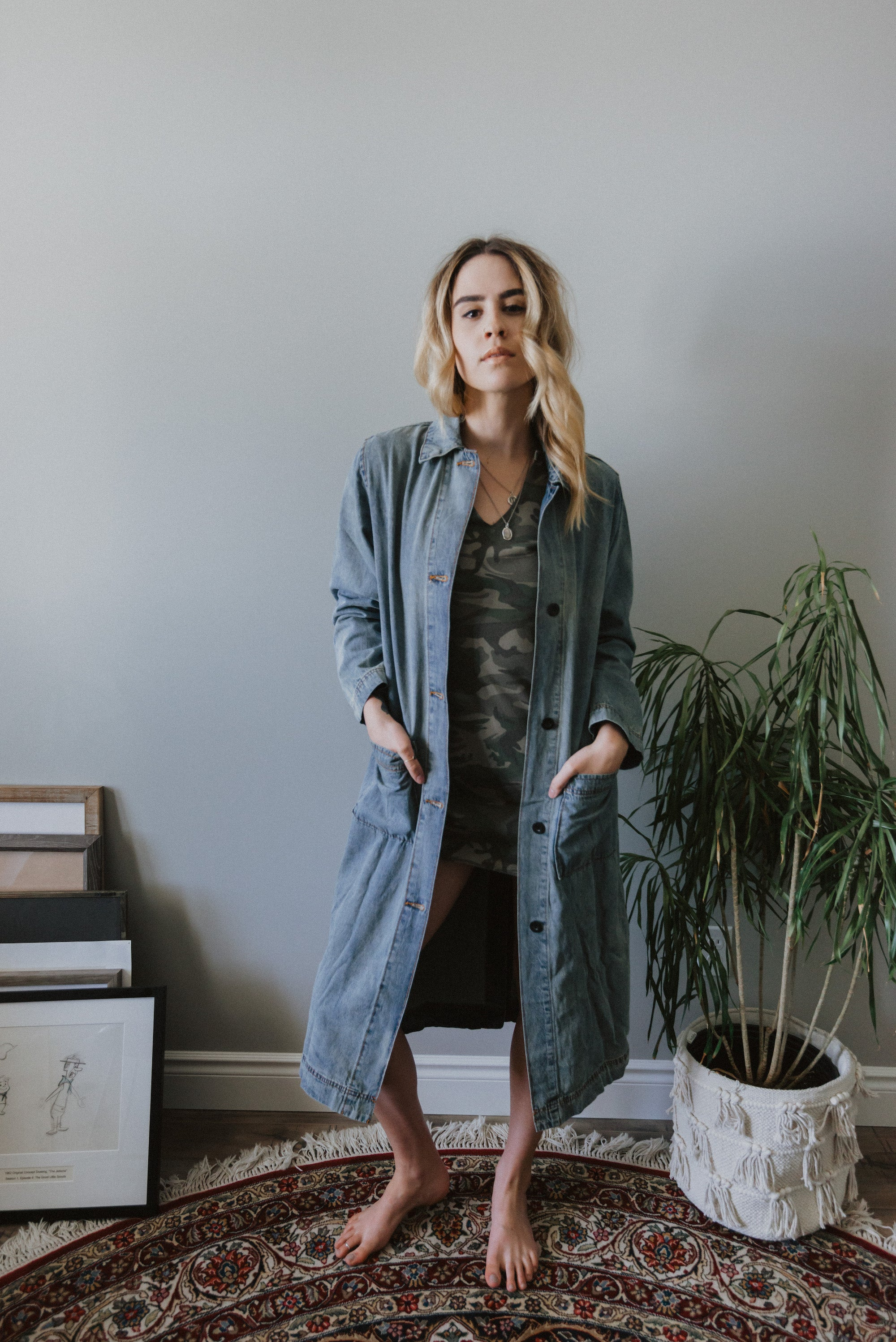 Cassidy Long Denim Jacket