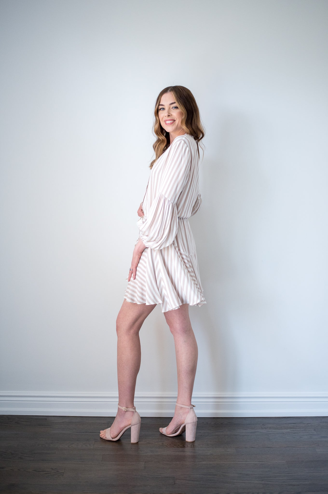 By The Pier Ruffle Mini Dress