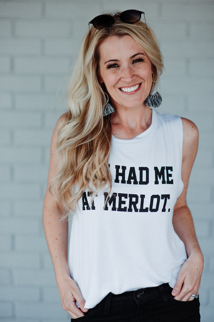 SOLD OUT / You Had Me At Merlot Tank