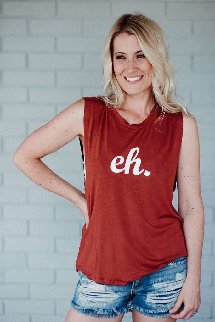 SOLD OUT / Canada D-EH Tank in Red