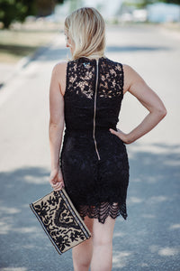 Majestic Lace Dress
