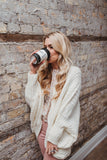 SOLD OUT / Nestled Up Cardigan in Ivory