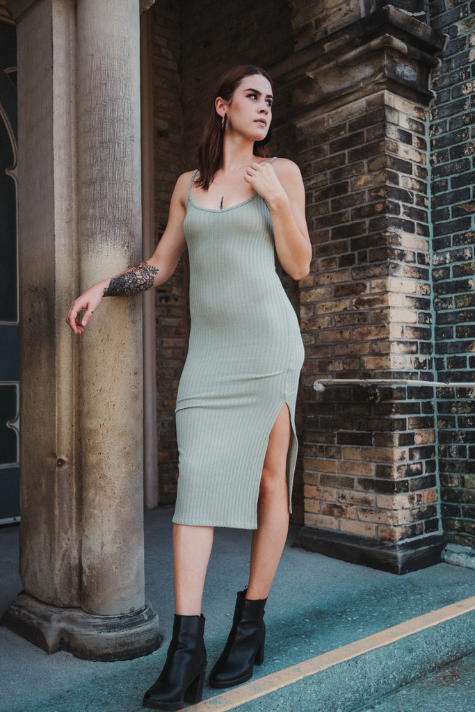 Perfect Fit Ribbed Dress / FINAL SALE