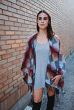 SOLD OUT / Maya Woven Aztec Poncho
