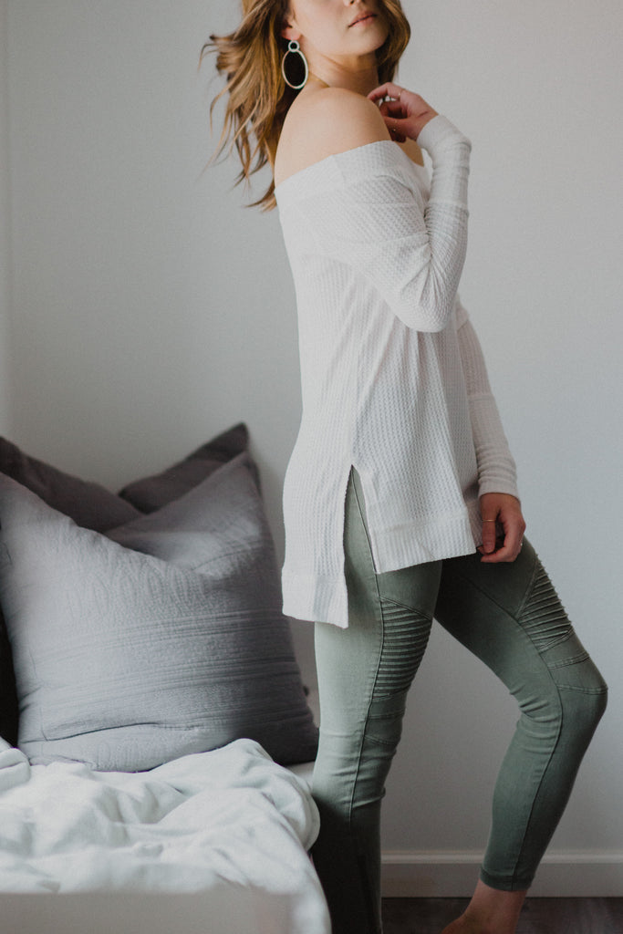 SOLD OUT / Piper Jeggings in Olive
