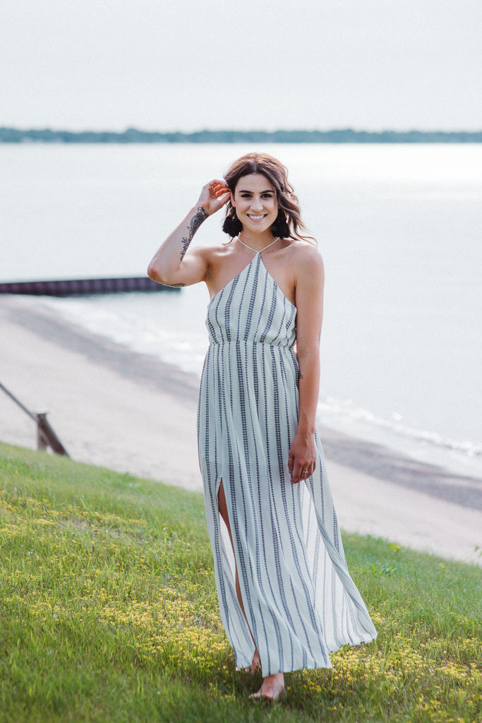 SOLD OUT / All Roads Lead To Saratoga Maxi Dress