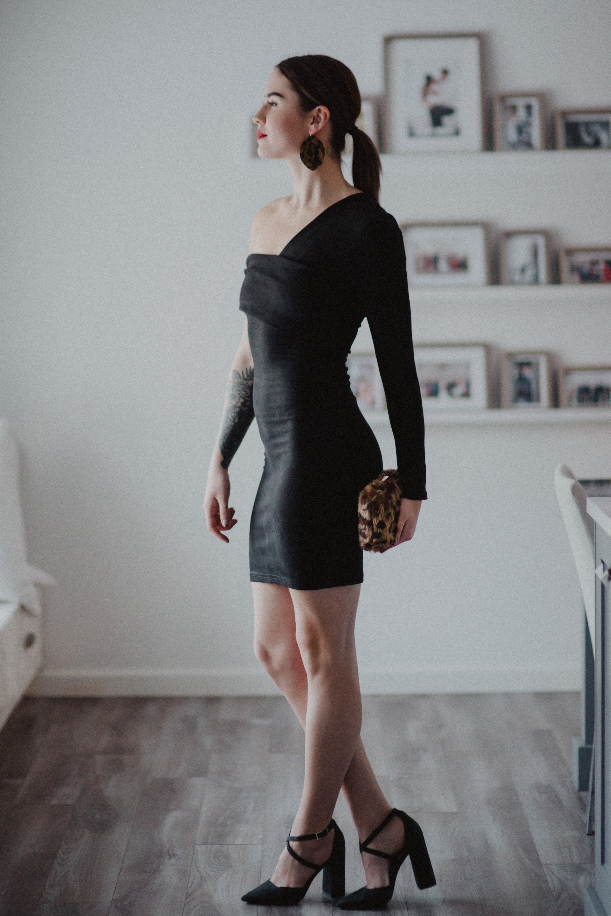 Life of the Party Faux Suede Dress / FINAL SALE