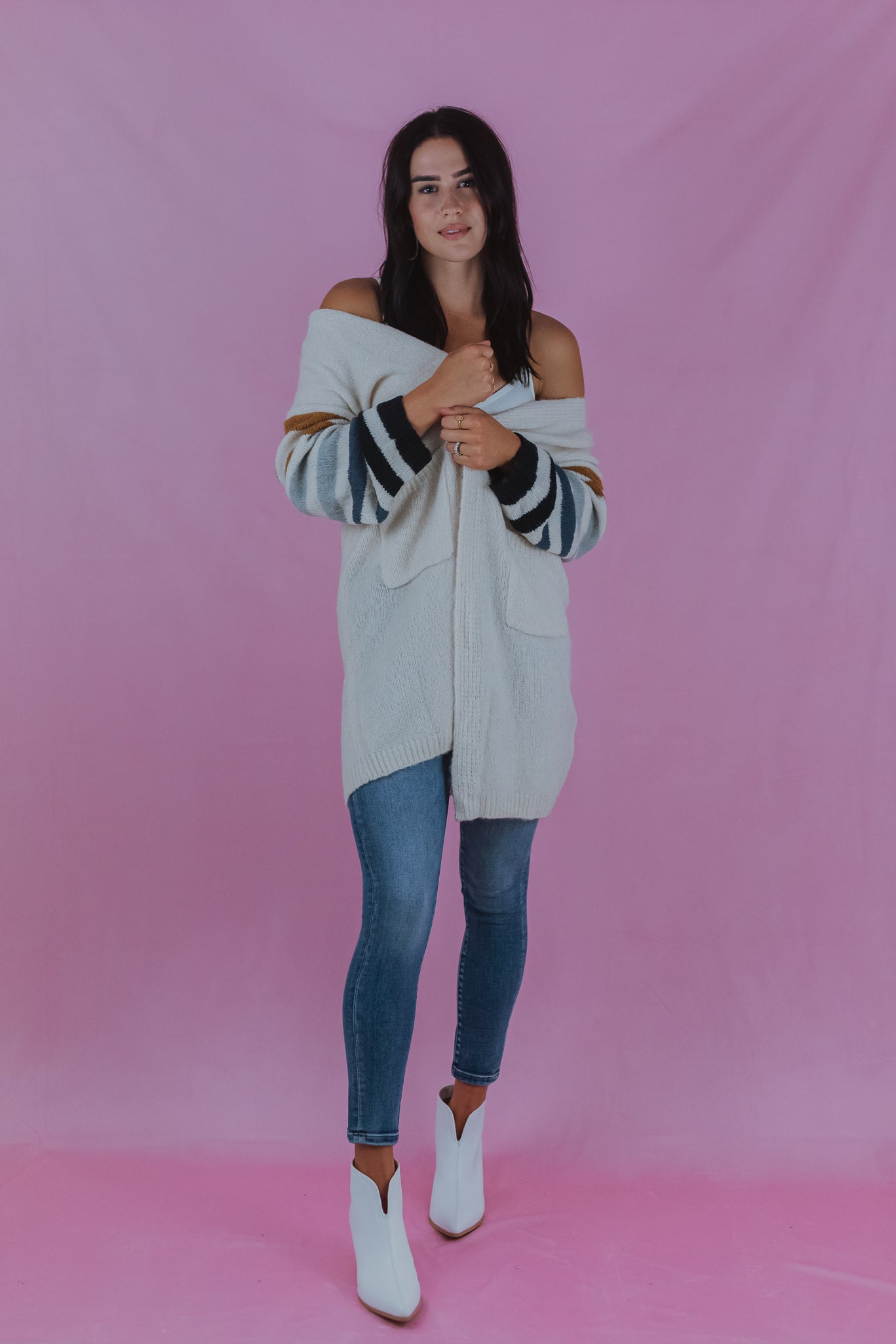 •sold out• Going For A Hayride Knit Cardigan
