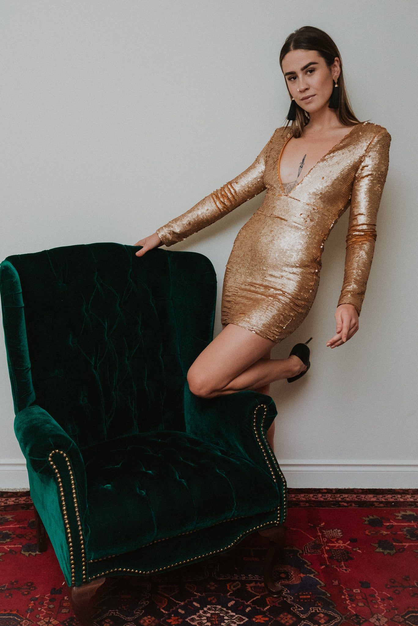 The Marilyn Sequin Dress / FINAL SALE