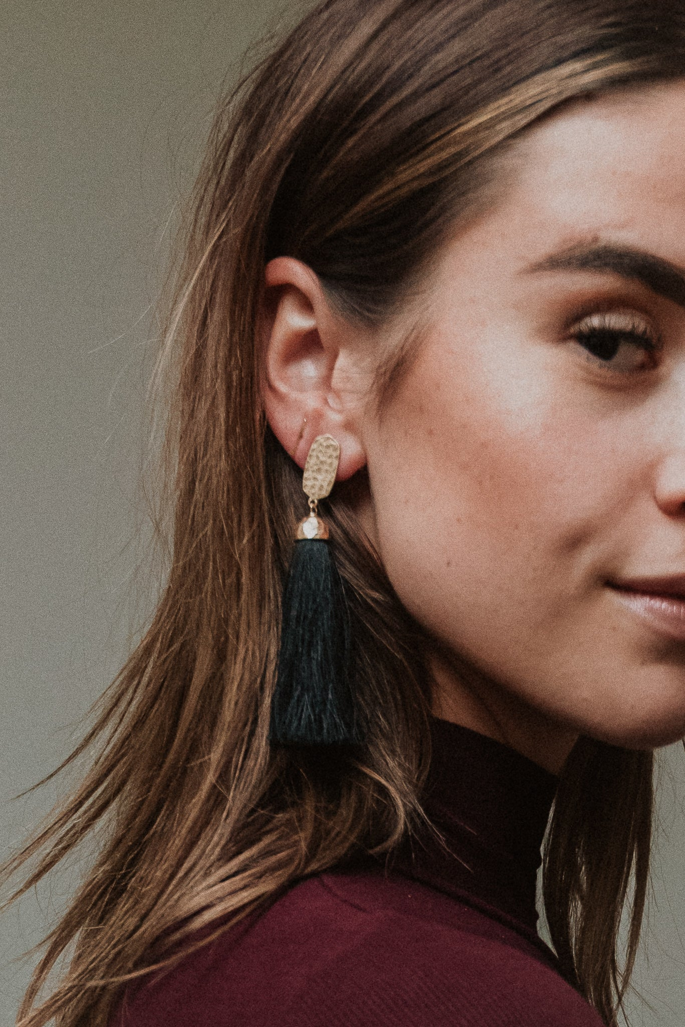 A La Mode Fringe Tassel Earrings