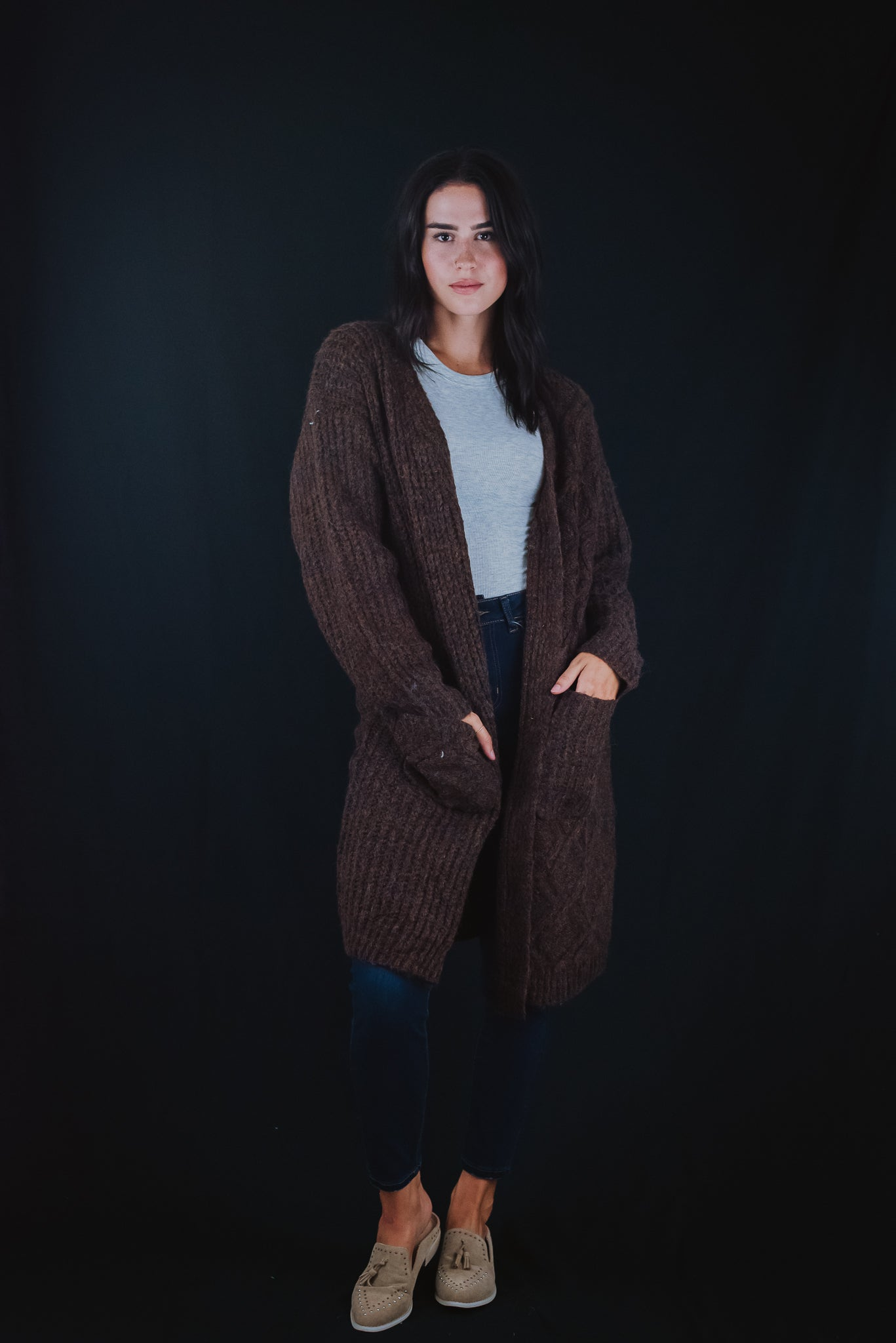 Change In Seasons Chunky Knit Cardigan