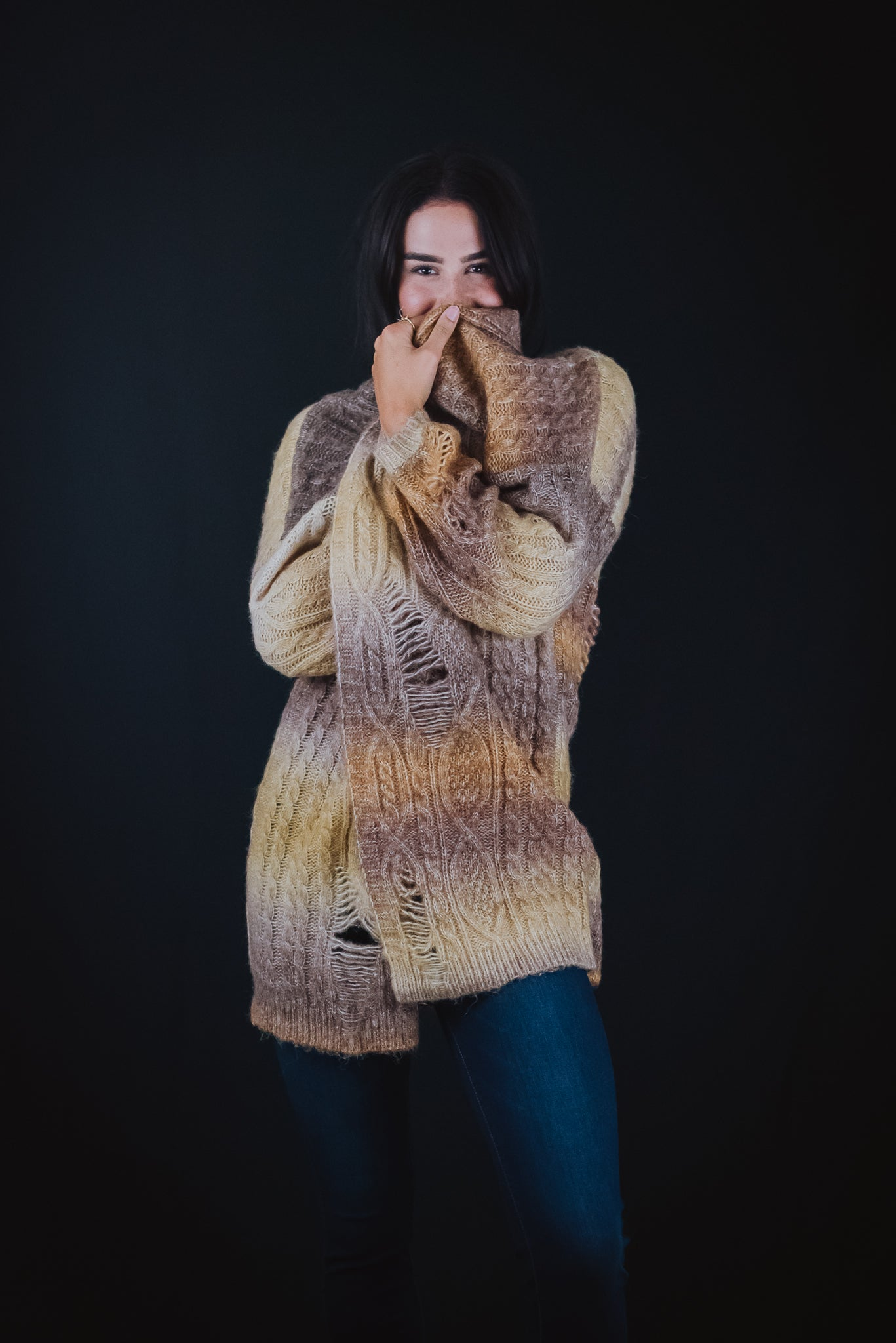 Sugar and Spice Distressed Cardigan