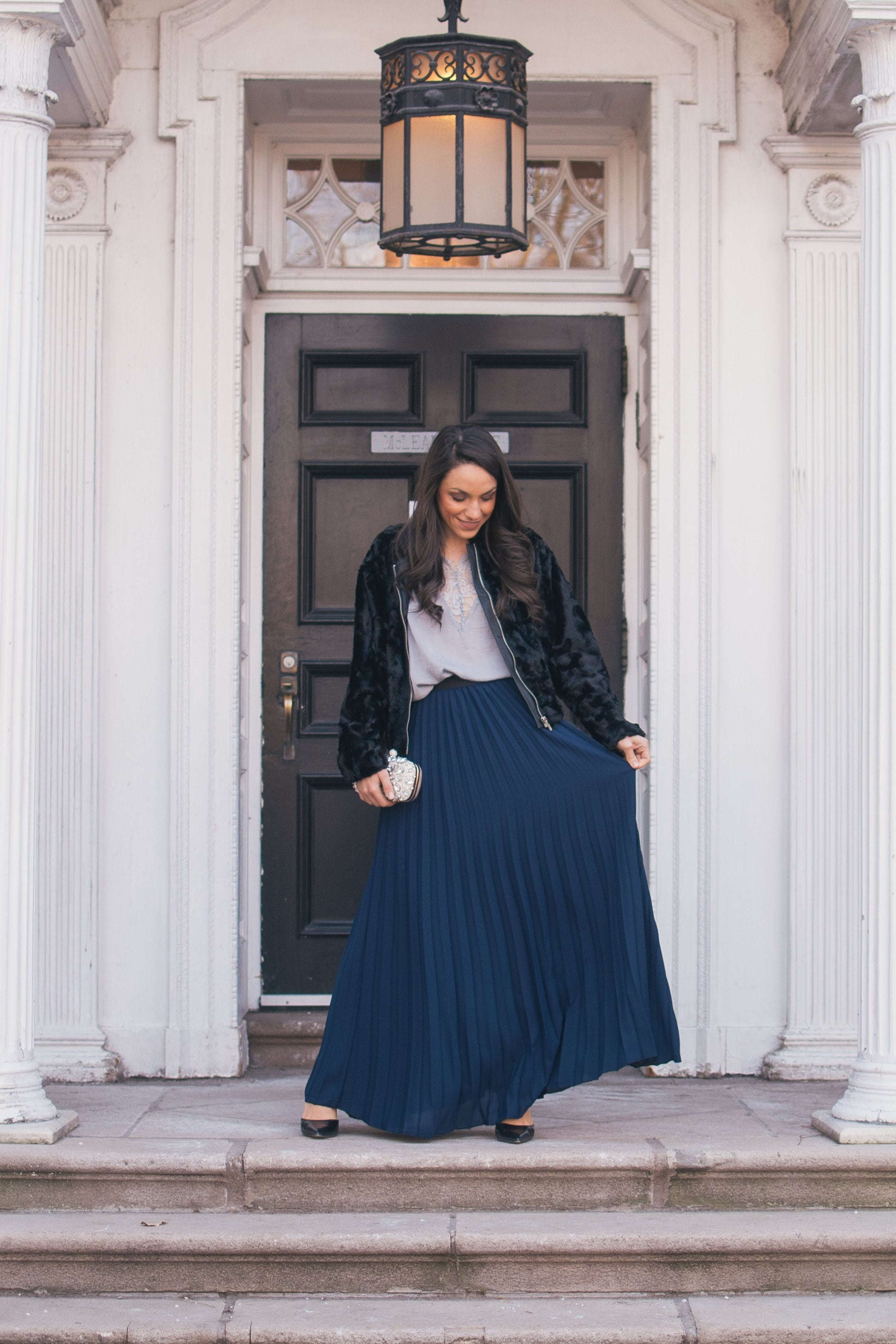 The Abigail Pleated Maxi Skirt / FINAL SALE