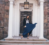 The Abigail Pleated Maxi Skirt