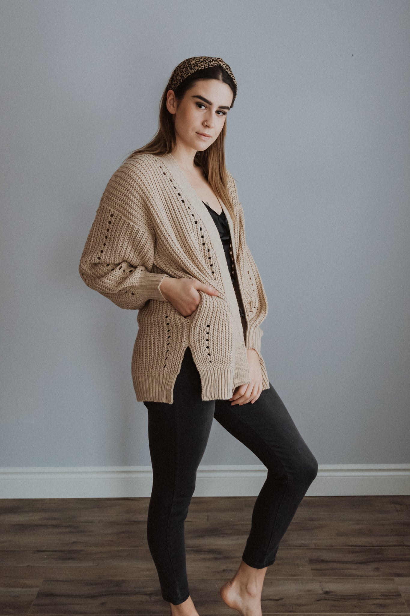 Oh My Cozy Knit Cardigan / FINAL SALE