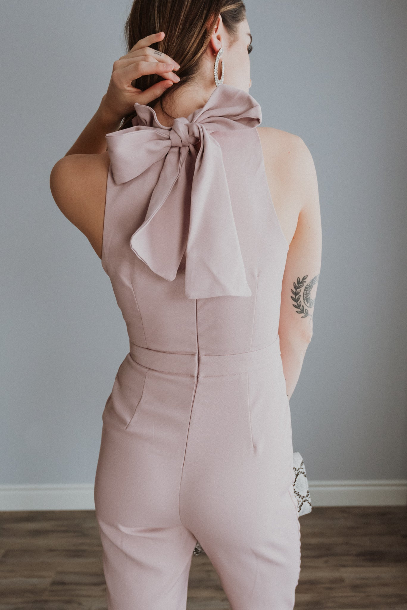 xSOLD OUTx Like A Charm Jumpsuit in Pale Pink
