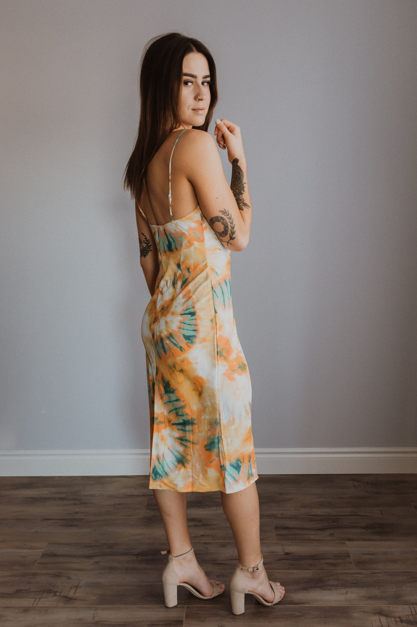 Ray of Sunshine Cami Dress / FINAL SALE