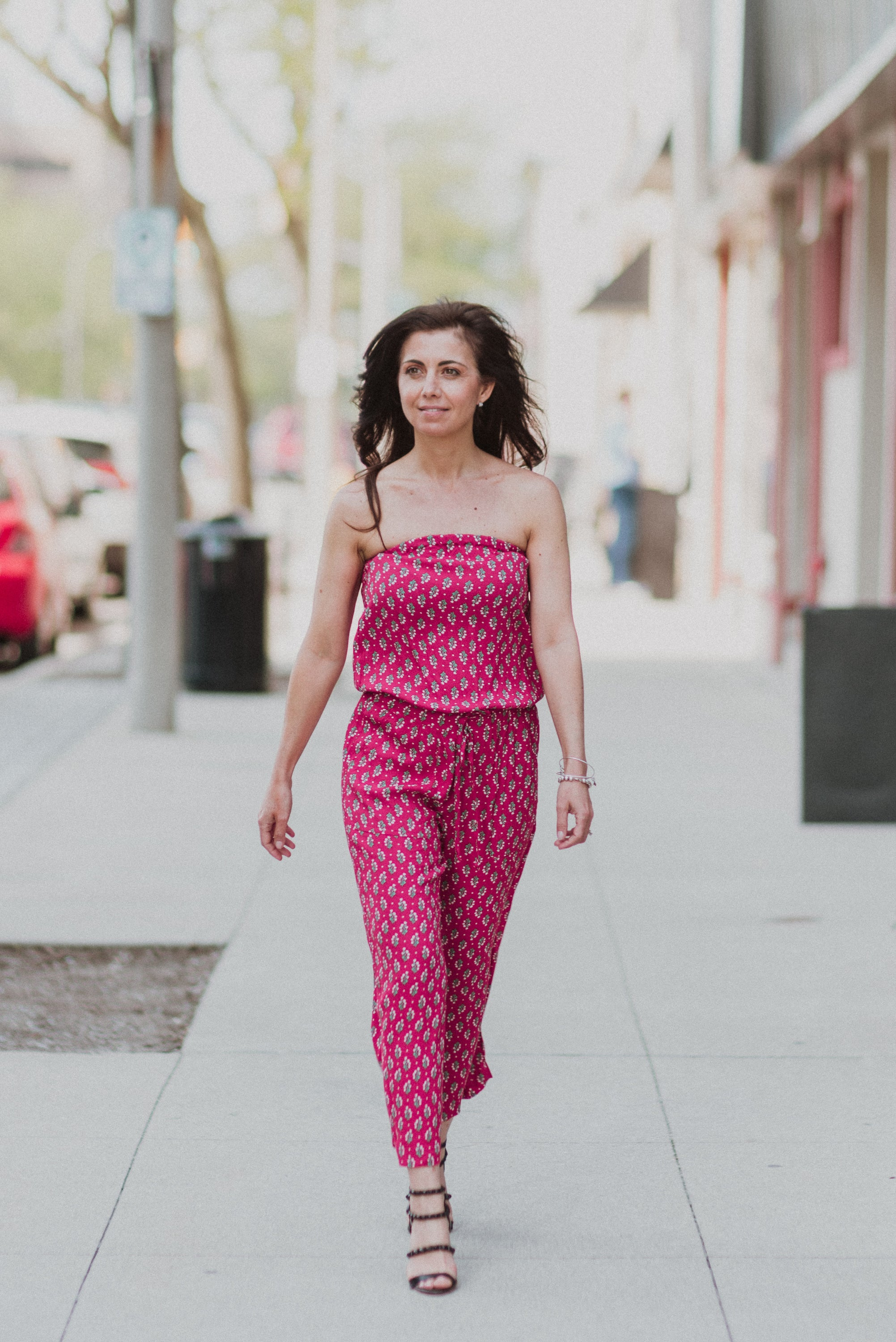 xSOLD OUTx Time to Get Away Floral Jumpsuit