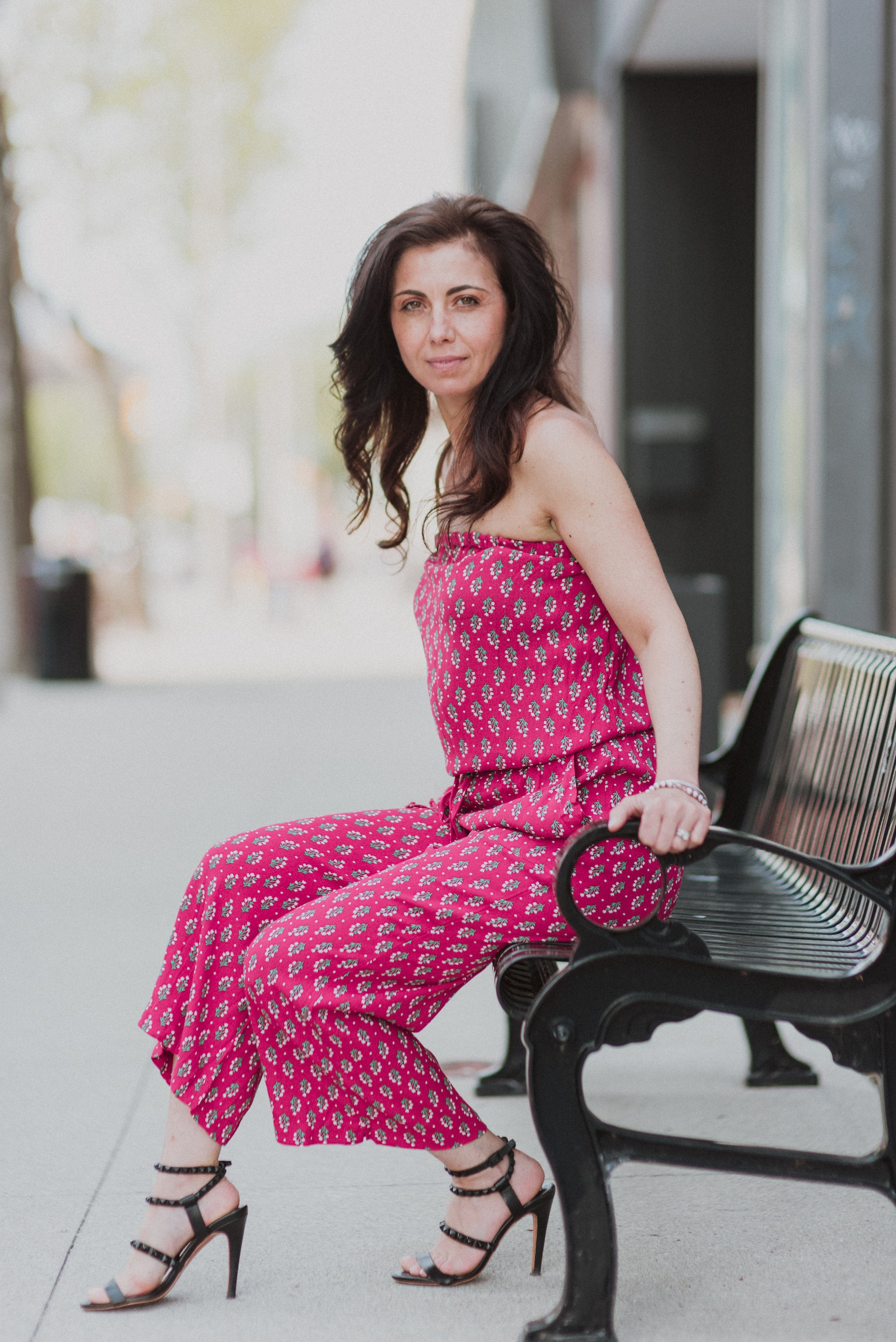 Time to Get Away Floral Jumpsuit