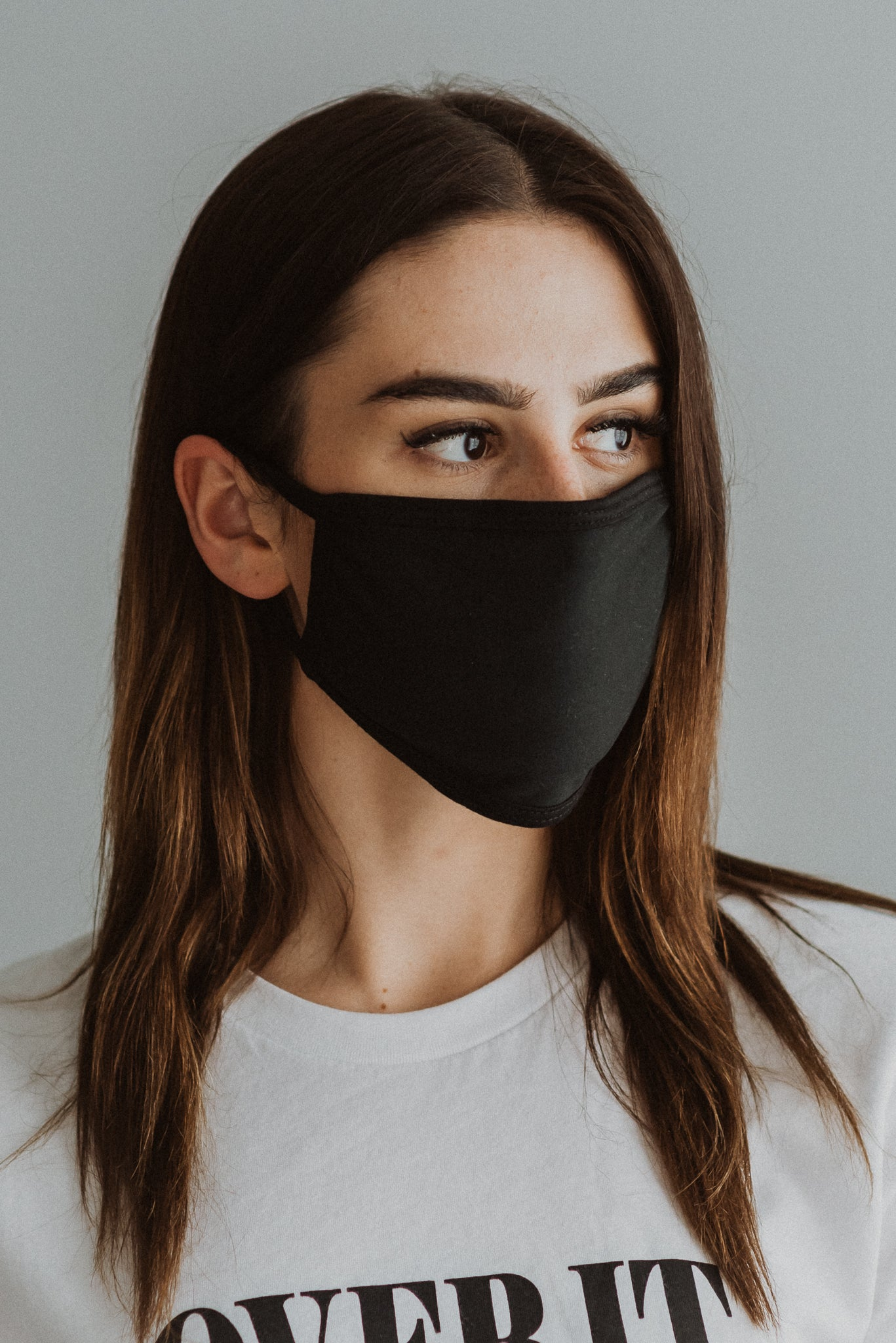 Keeping It Safe Face Mask in Black
