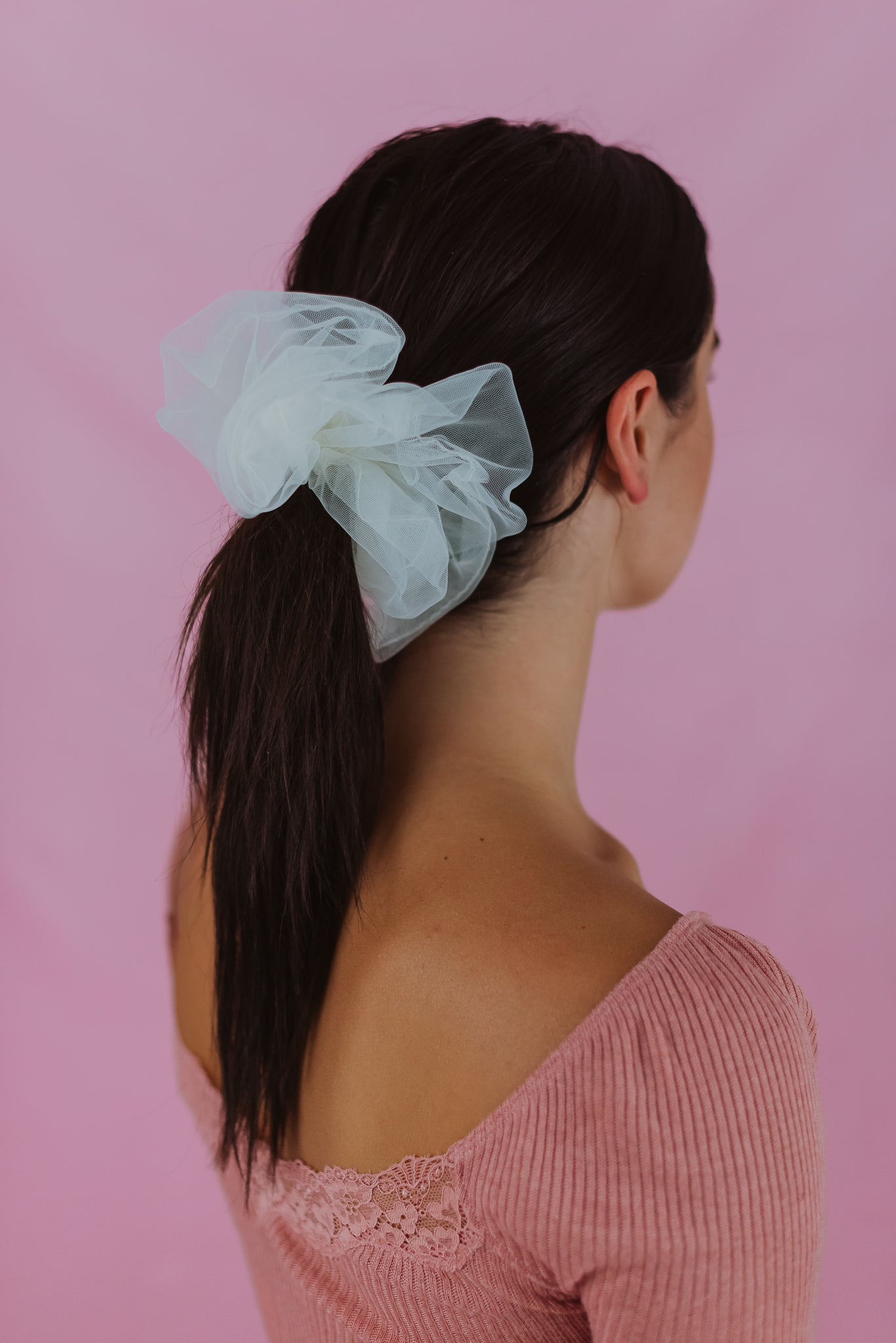 On Cloud Nine Scrunchies in Ivory