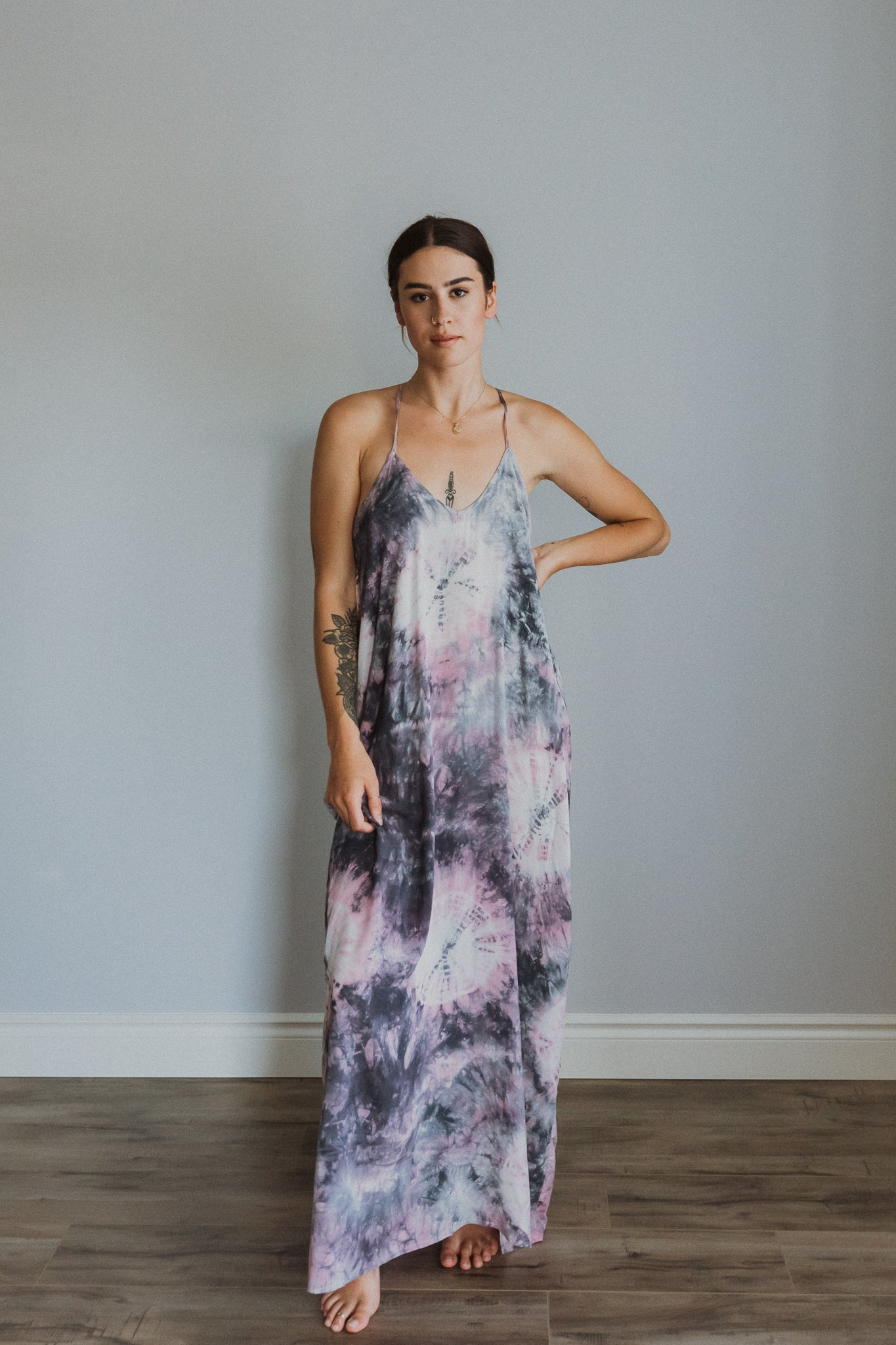 xSOLD OUTx Bright & Breezy Tie Dye Maxi Dress