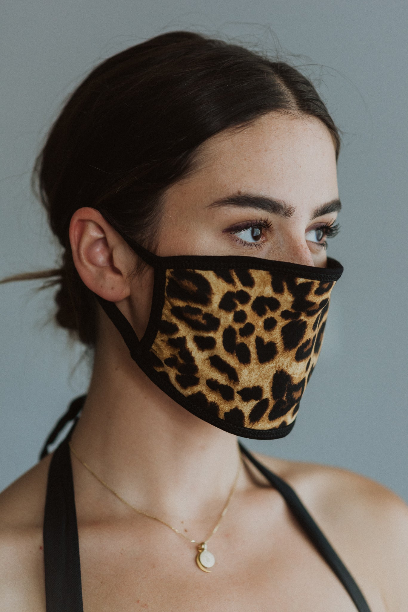 Keeping It Safe Face Mask in Leopard
