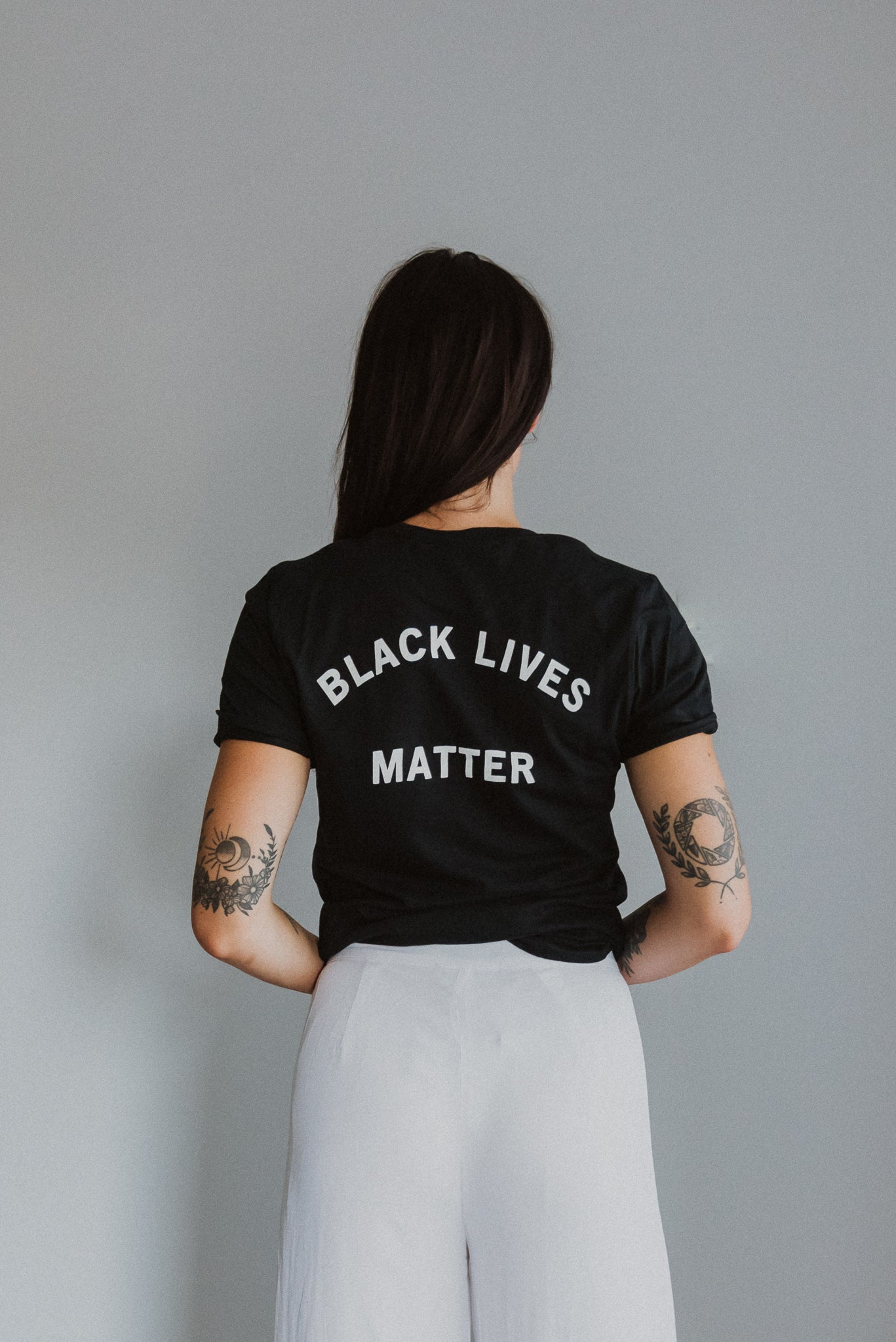 Black Lives Matter Graphic T-Shirt in Black