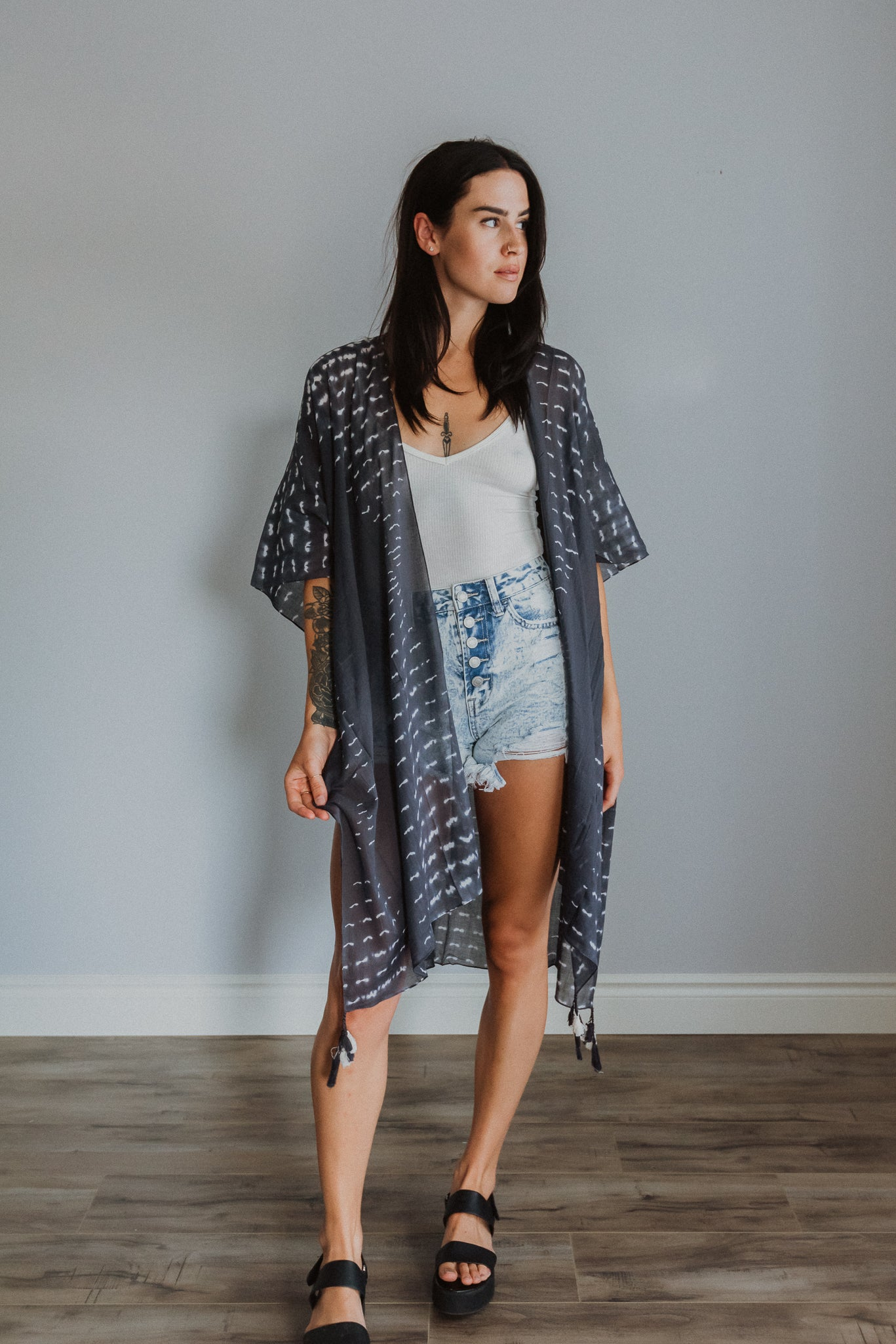 zSOLD OUTz Sea For Yourself Tie Dye Kimono