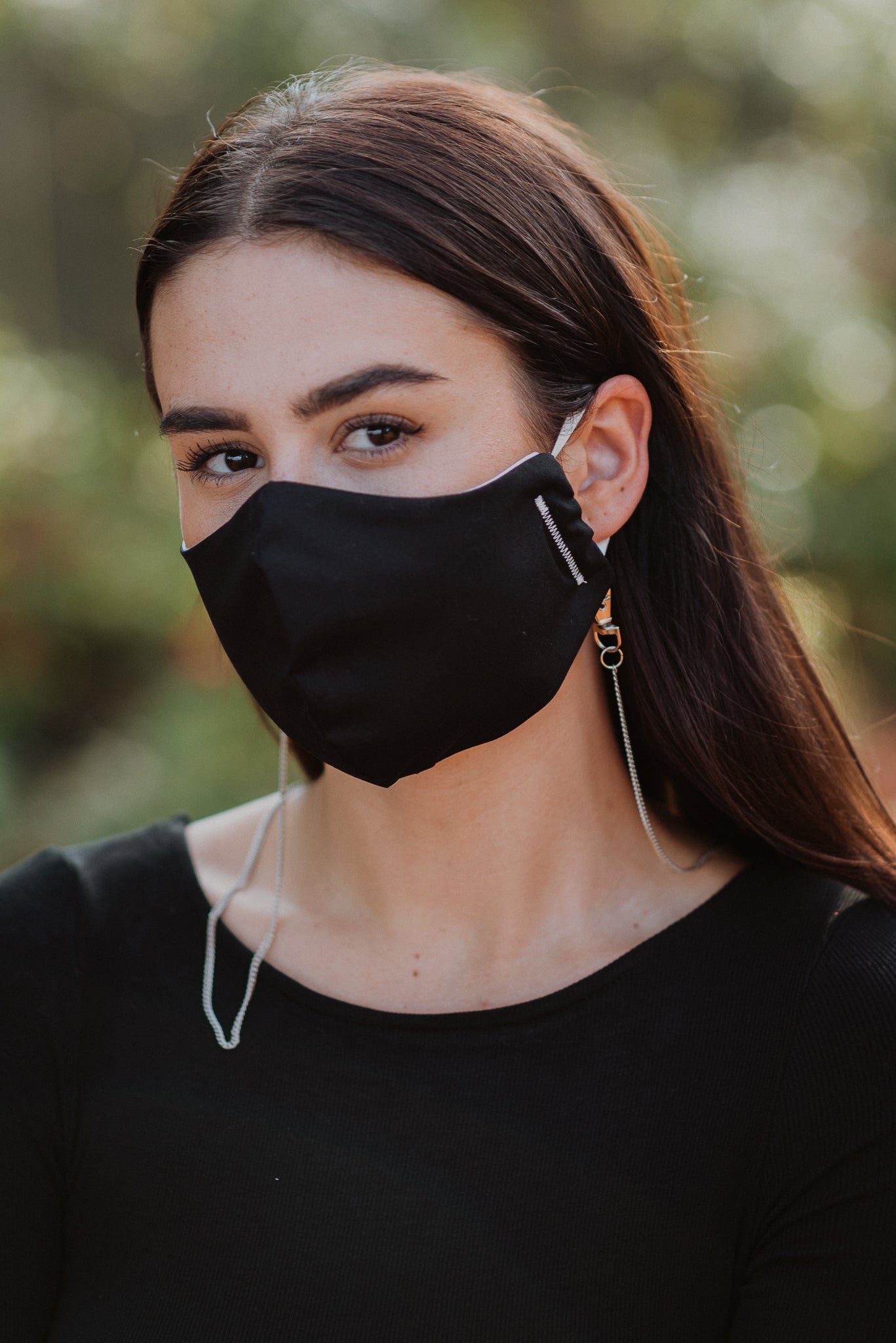 •sold out• Staying in Disguise Face Mask in Black