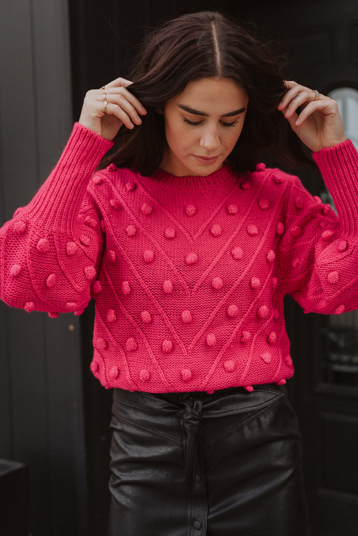 Shake Your Pom Pom Sweater