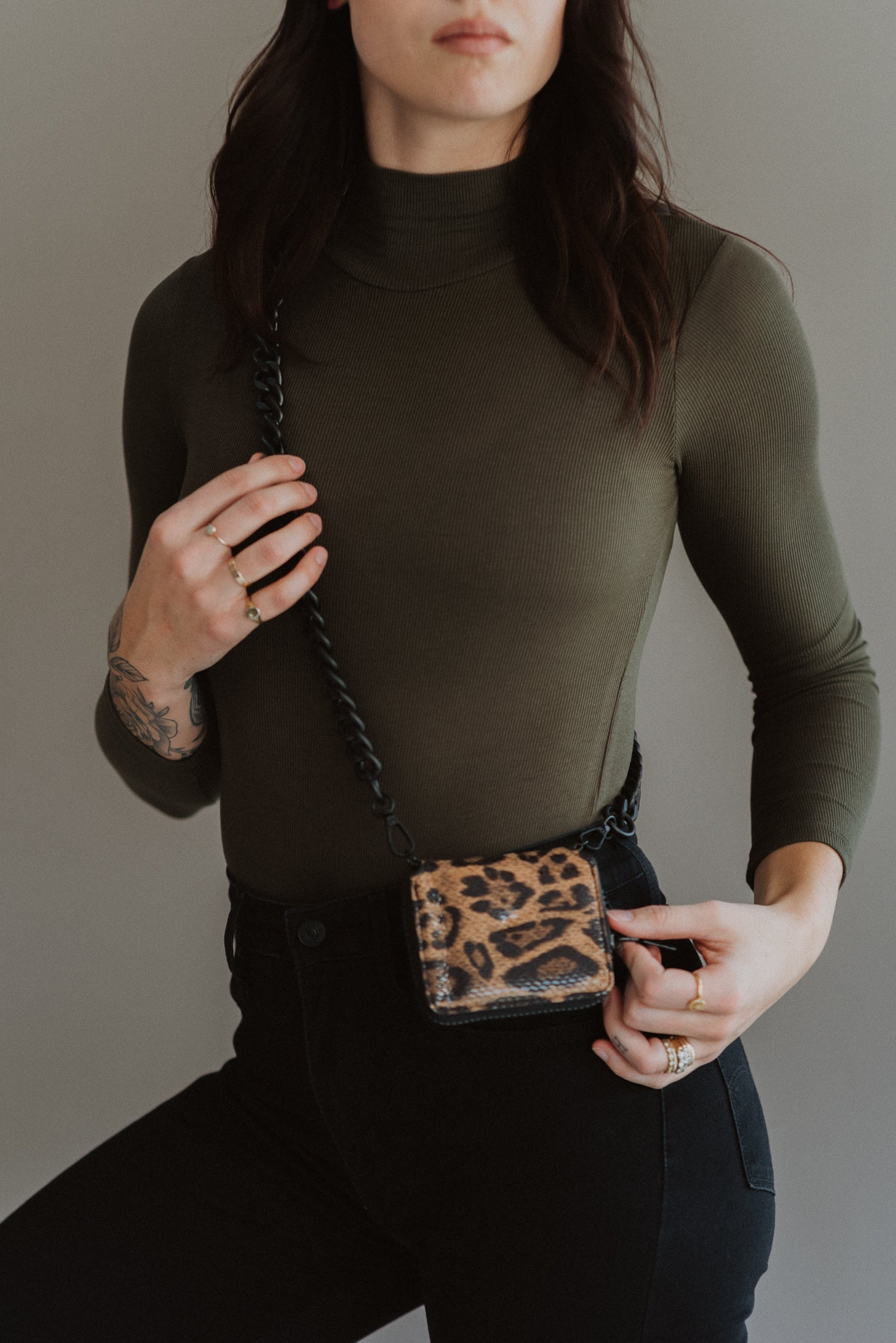 Wildin' Out Leopard Print Crossbody