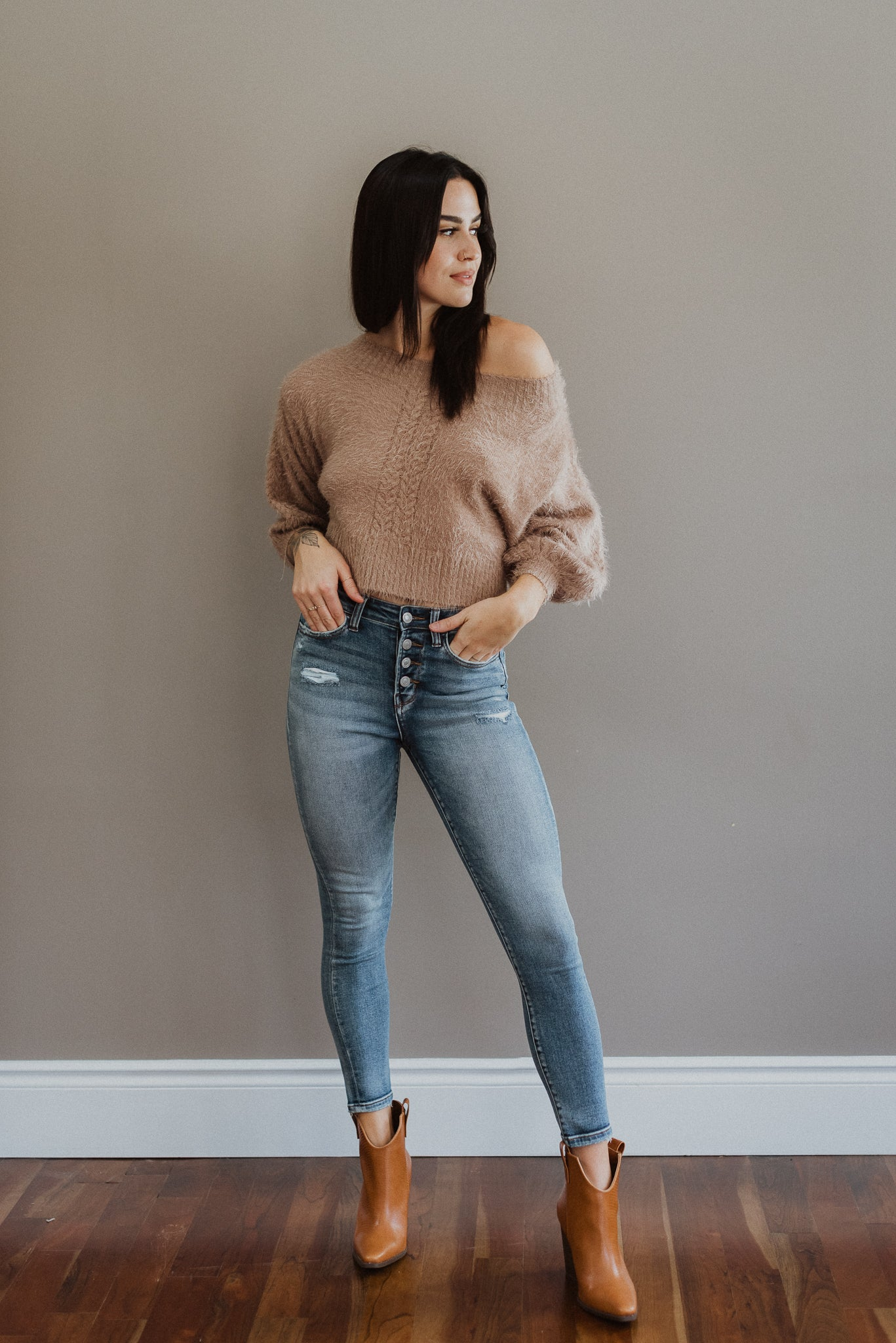 Totally Essential High-Waisted Jeans