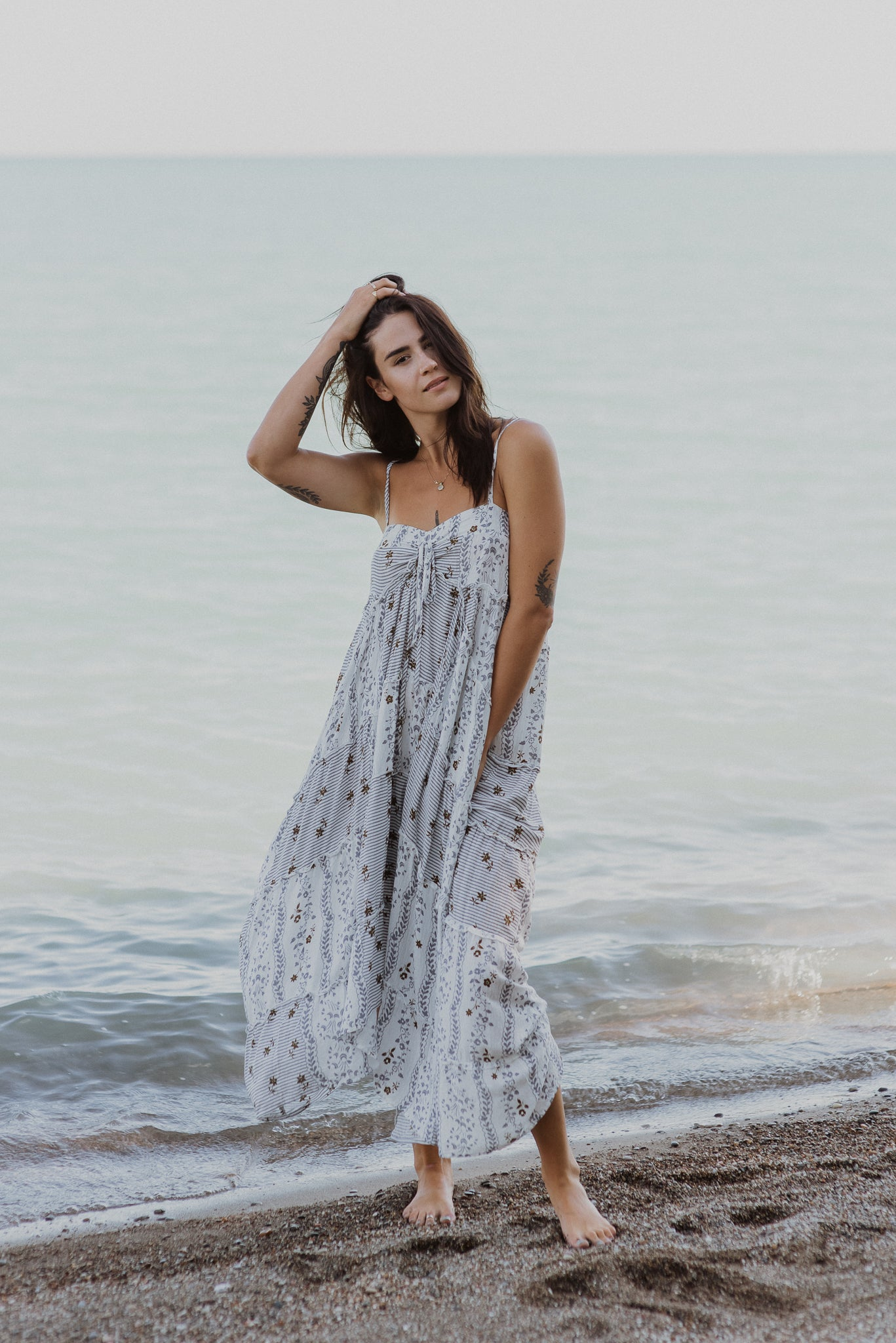 Afternoon Romance Maxi Dress