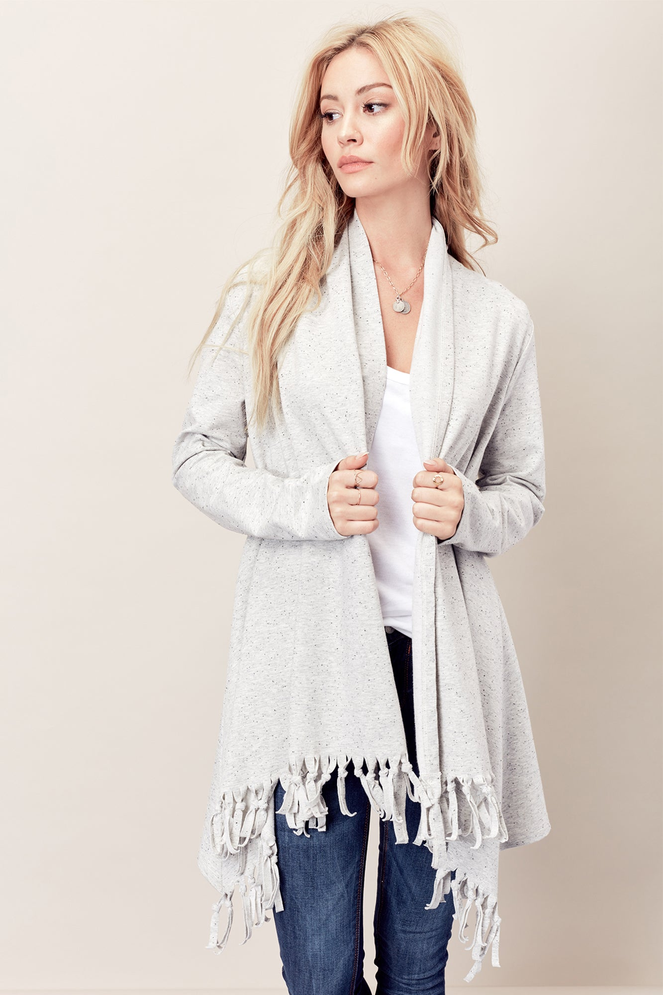 SOLD OUT / Gabriella Fringe Sweater