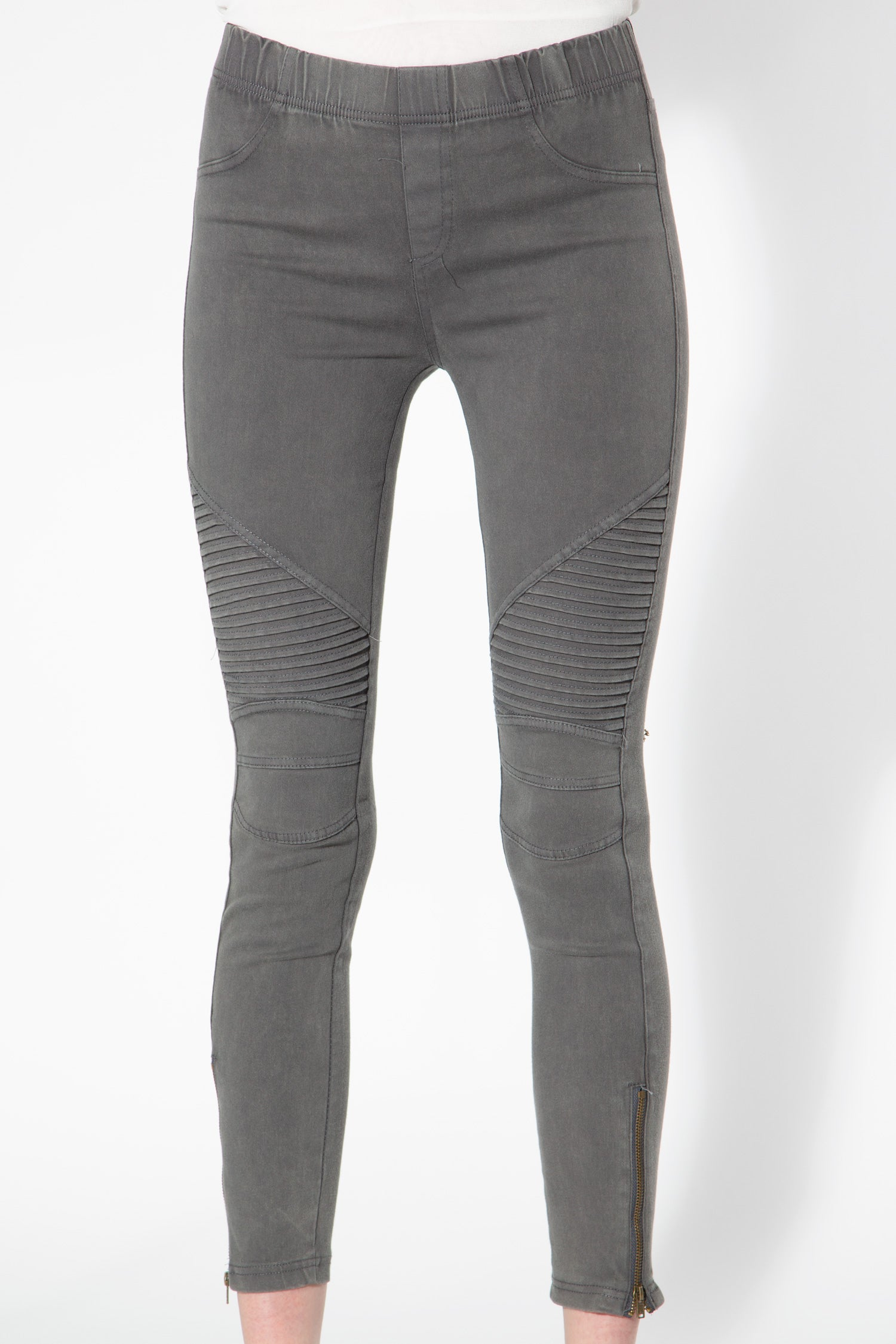 Piper Jeggings in Grey