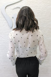 SOLD OUT / Spread Your Wings Butterfly Print Button Up Blouse