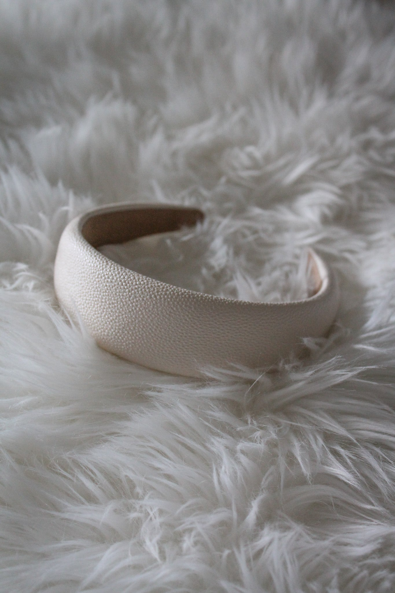 Top It All Off Headband in Ivory