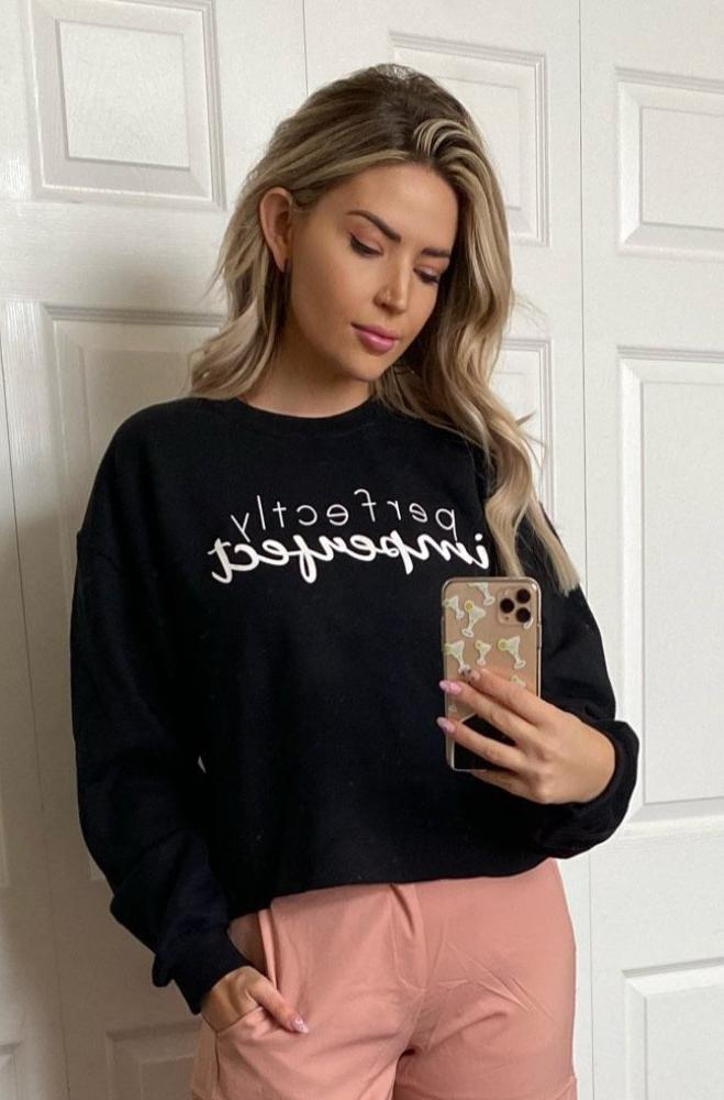 Perfectly Imperfect Cropped Sweatshirt *Available in plus sizes!