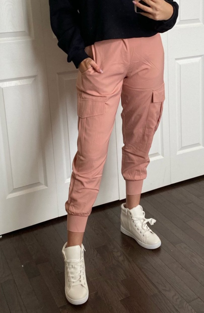 At Attention Utility Joggers / FINAL SALE