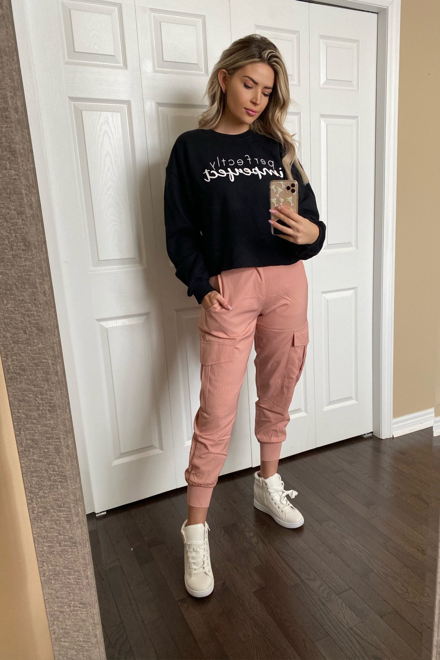Perfectly Imperfect Cropped Sweatshirt *PLUS sizes!* / FINAL SALE