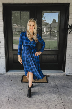 SOLD OUT / Zoey Plaid Dress